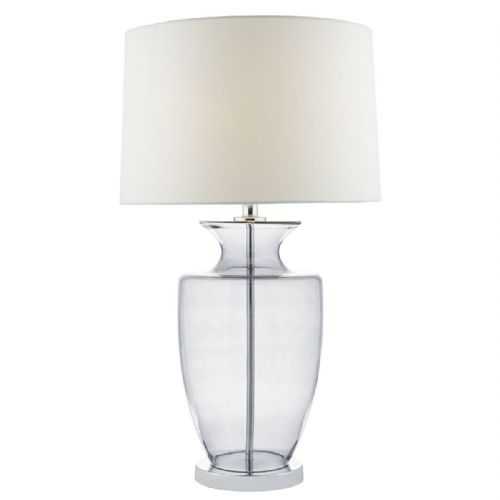 Honor Table Lamp Smoked complete with Shade